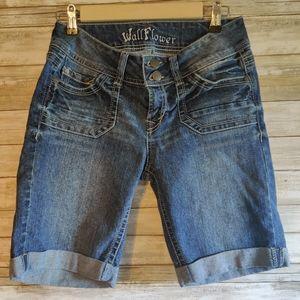 Wallflower Jean Shorts